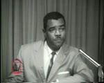 WALB newsfilm clip of Dr. William G. Anderson responding on local television to criticism of the Civil Rights movement in Albany, Georgia, 1962 July 19