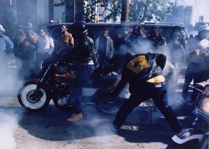 Burn Off, from the Black Biker Series