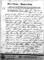 Affidavit of Lewis Smith: Albany, Georgia, 1868 Sept. 24