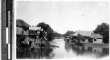 River scene, Malabon, Philippines, ca. 1920-1940