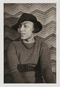 "Zora Neale Hurston, from the unrealized portfolio ""Noble Black Women: The Harlem Renaissance and After"""