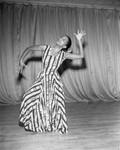 Dancer Eunice Cain, Los Angeles, 1960