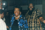 Maya Angelou and L.T. Beauchamp laughing together