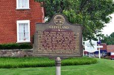 Cleveland historical marker