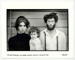 Nico, Mona, and Harvey Fox at Yogi Bhajan's ashram, Hollywood, CA. 1968