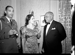 President Lescott and Madame Lillian Evanti [acetate film photonegative], ca. 1940s