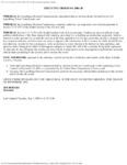 Executive order no. 2001-28