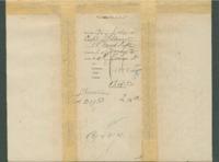Voucher to Capt. James Stewart, 14th Michigan Infantry