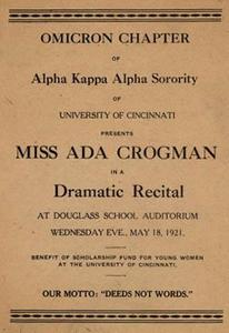 Drama Recital Program