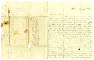 [Letter from Maud C. Fentress to David W. Fentress, May 16, 1859] The David W. Fentress Family Letters, 1856-1969