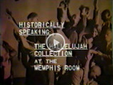 "Video - Historically Speaking: The ""Hallelujah!"" Collection at the Memphis Room"