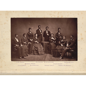 The Story of the Jubilee Singers