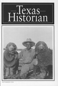The Texas Historian, Volume 59, Number 1, September 1998 The Texas Historian