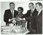 Photographs of Sammy Davis, Jr.'s birthday celebration, December 8, 1968