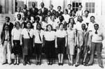 Class photo at McKinley Jr. High School