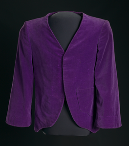 Jacket made by Joe Emsley and worn by Miles Davis