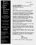 Letter: Los Angeles, California, to James Dombrowski, New Orleans, Louisiana, 1963 June 4
