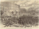 The Louisiana outrages--attack upon the police in the streets of New Orleans