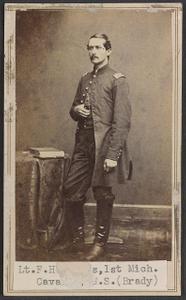 Lieut. F. H. Rogers, Adjutant 1st Battalion, 1st Michigan Cavalry