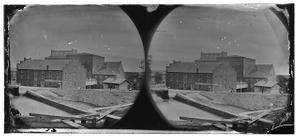 [Richmond, Va. Haxall & Crenshaw's Flour Mill; Canal lock in foreground]