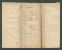 Voucher to Capt. Sheridan F. Hill, 18th Michigan Infantry