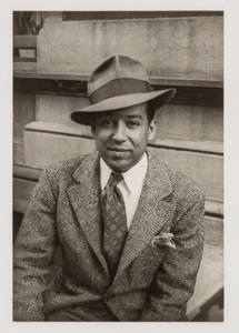 Langston Hughes, from the portfolio 'O, Write My Name': American Portraits, Harlem Heroes