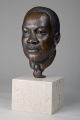 Portrait bust of Dr. Martin Luther King, Jr