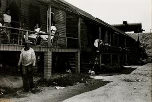 Charlotte, North Carolina (Row Houses, People on Porch)