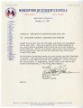 Letter from Robert B. Patterson to Citizens' Council Members and Friends