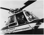 Young, Perry H., Jr; Airlines, New York Airways (USA); Sikorsky S-55; African Americans in Aeronautics. [photograph]