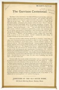 The Garrison Centennial