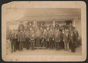 [Reunion of 11th Rhode Island Infantry Regiment veterans, Minor's Hill, Virginia]