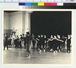 Alvin Ailey Conducts Master Class