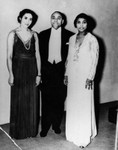 George and Paullyn Garner with Marion Anderson