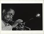 Dizzy Gillespie [ca. 1984-1990 : black-and-white photoprint]