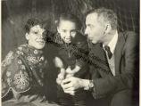 Katherine Dunham, Marie-Christine Dunham Pratt and John Pratt