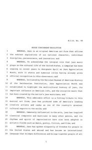 81st Texas Legislature, House Concurrent Resolution, House Bill 94 81st Legislature of Texas House Concurrent Resolutions