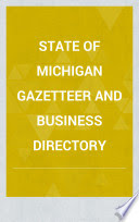 State of Michigan gazetteer & business directory for 1856-7 /