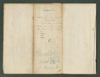Voucher to Capt. C. R. Miller, 18th Michigan Infantry