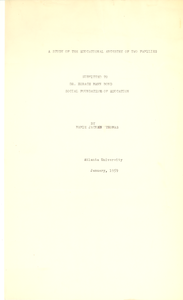 Student family histories: Thomas, Mamie Jackson (Moton)
