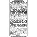 """""""Delta Sigma Theta Delta chapter: Miss Wilma Reed of Wichita, Kan., has been made a pledge,"""" February 6, 1920"""
