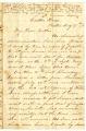 Correspondence from John G. Latta to Lucinda Latta, August 17, 1861