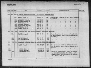 Activity Number 0210 0052 - CACAPON (AO-52) - 1952