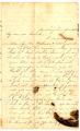Correspondence from Mary Guthrie Latta to Samuel R. Latta, June 28, 1861