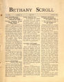 """""""Bethany Scroll,"""" Bethany Lutheran College, Mankato, Minnesota, April 1927, Volume 1 Number 7"""