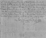 """Begins """"I John Gassaway register of wills..."""""""