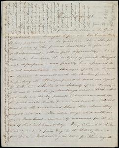 Letter from Sarah Pugh, Philad[elphi]a, [Penn.], to Maria Weston Chapman, 1/29 [18]48