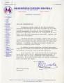 Letter from Ellettt Lawrence to Fellow Mississippian