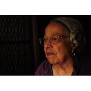Adelaide Cromwell, day of the Lower Roxbury Black History Project interview