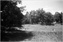 Prince Edward School Foundation (background) and children, Green Bay, Va., 1962-1963